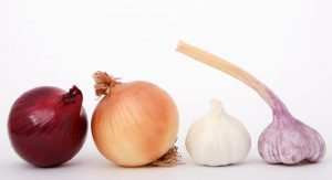 onions and garlic acupuncture medicine